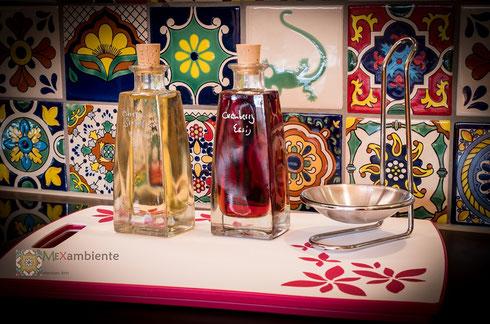 Motivfliesen mit bunten Farben aus Mexiko