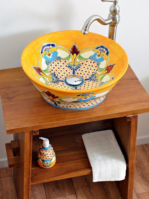 Mexambiente Aufsatzwaschbecken MEX4 - Puebla