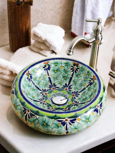 Aufsatzwaschbecken für Gäste WC