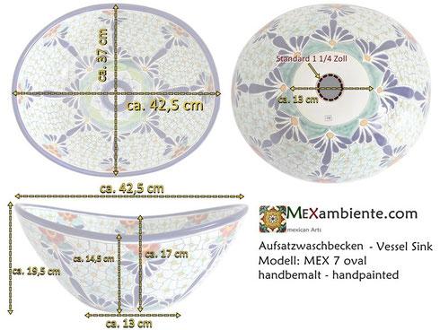 Mexambiente Waschbecken MEX 7