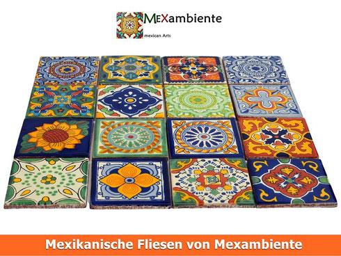 Mexikanische Fliesen Keramikglasiert