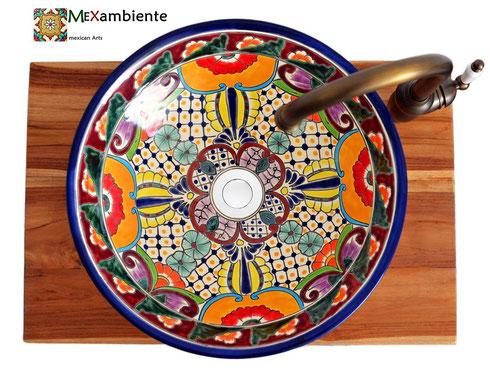Mexambiente Aufsatzwaschbecken MEX4 - FRIDA