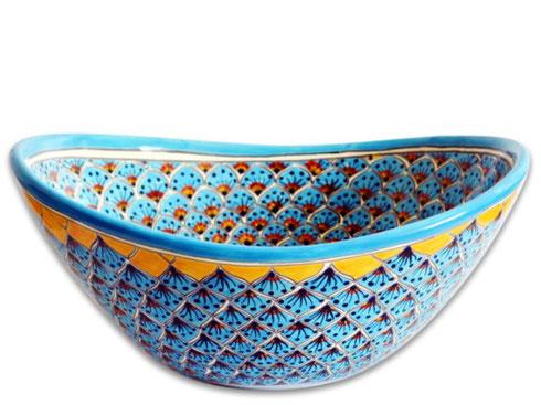 Ovales Waschbecken im Marokkanischem-Stil
