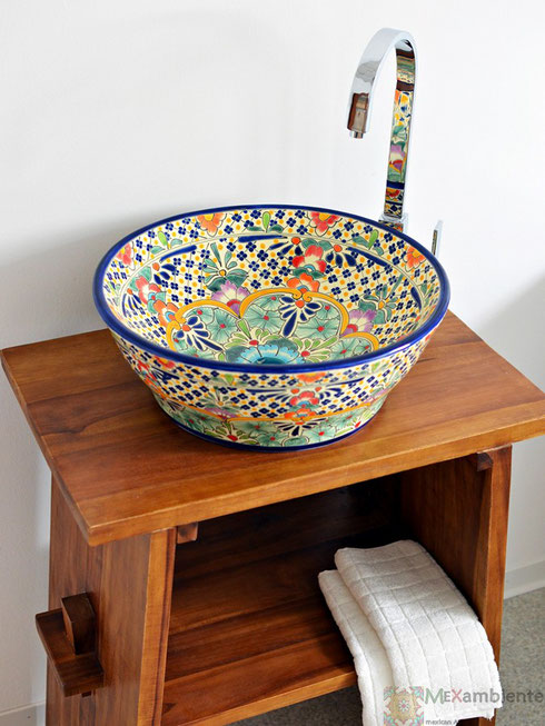 Mexiko Aufsatzwaschbecken CARIBE