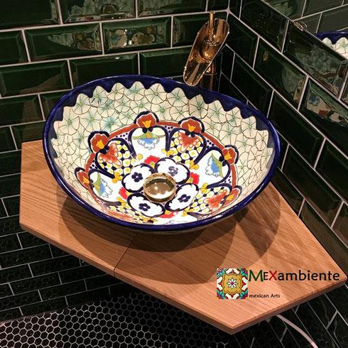 Mexambiente MEX 7 - Aufsatz-Waschbecken CANCUN