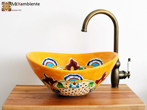Mexambiente Waschbecken MEX 7 - Puebla