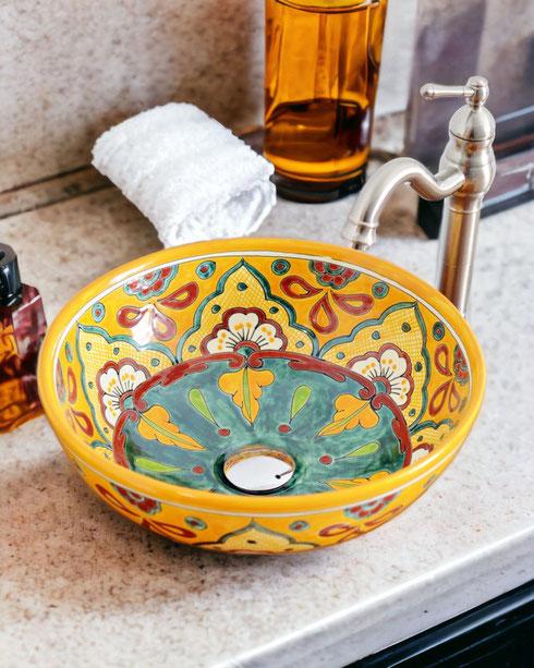 Waschbecken Boho style