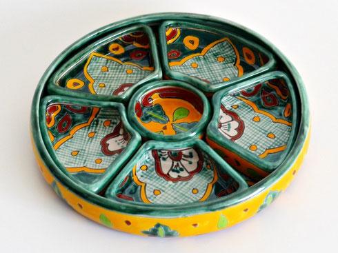 Originelle Snack-Teller aus Mexiko