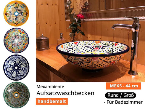 Mexambiente Waschbecken MEX 5