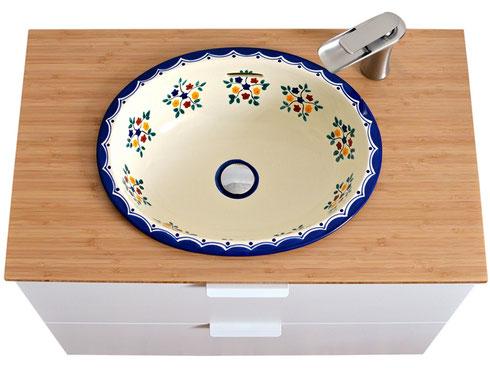 IKEA Waschtisch mit Mexiko Waschbecken