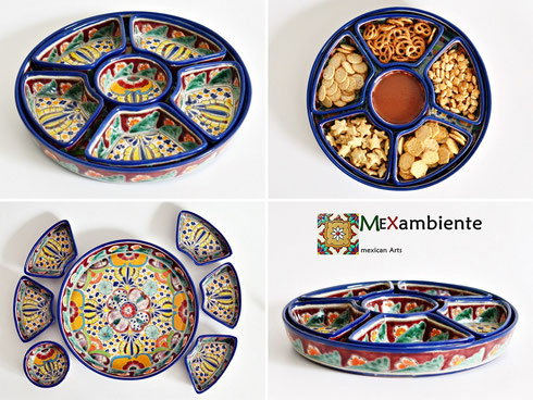 Mexikanische Snack-Teller in Mexambiente Designs!