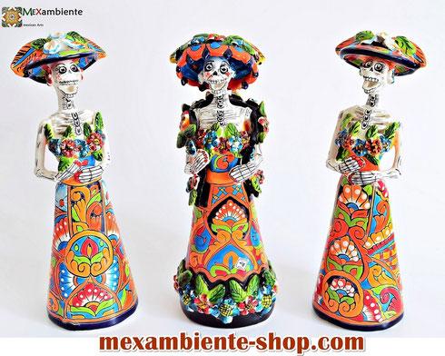 mexikanischer Totenkopf La Catrina kaufen