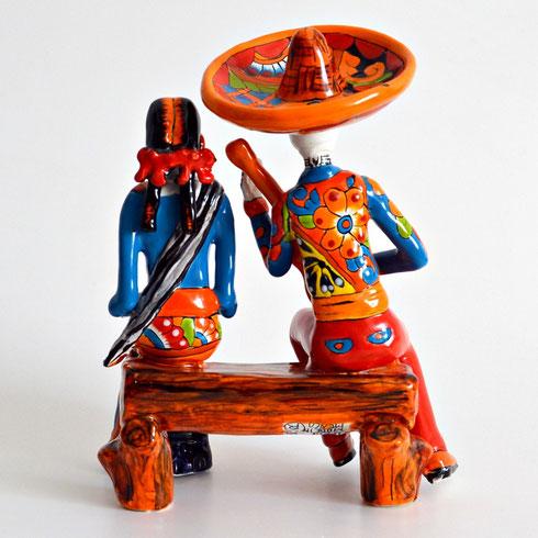 Mexikanische Totenköpfe - La Catrina