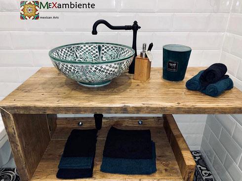 marokkanisches waschbecken