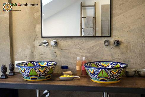 Mexambiente Aufsatzwaschbecken MEX4 - Mexico
