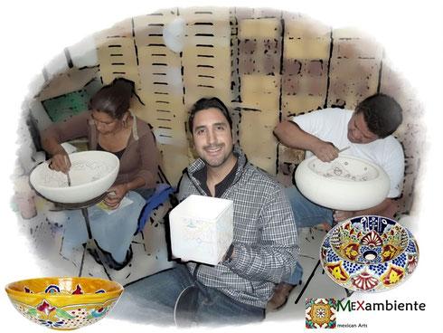Mexikanische Kunsthandwerker & Sergio Del Valle