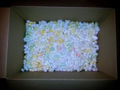 Наполнитель из пластика, пластиковый наполнитель для коробок, для упаковки
