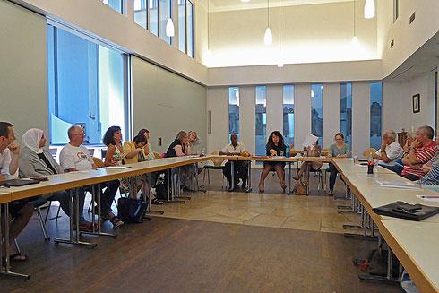 Einführungsseminar am 30.6.2015 in St. Hedwig mit ca 30 Interessenten