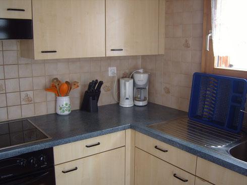 Wasserkocher, Kaffemaschine, Dampfgargerät, Fondue, Raclette, alles da!