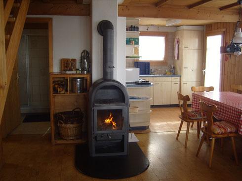 Holzheizung für wohlige Wärme