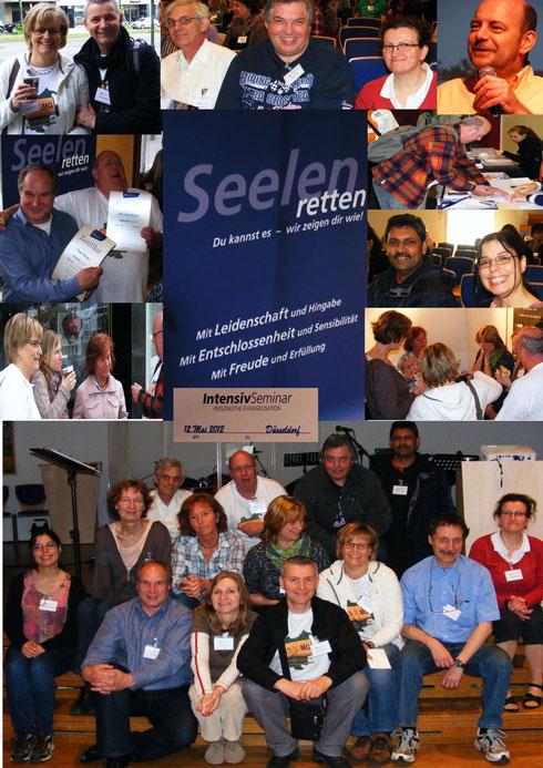 Teilnehmer des Seminares im Jesus-Haus Düsseldorf