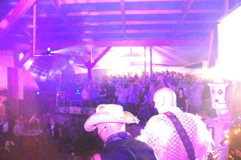 BBC ROCK auf der Kirmes-Party in Oberzell 2014