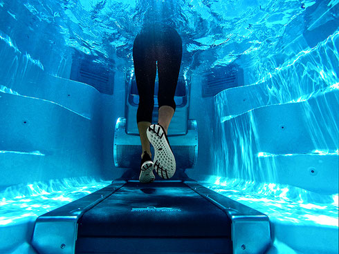 Swim Spa von Endless Pools mit Unterwasser-Laufband in Aarberg (Bern/Schweiz) testen und dann erst kaufen