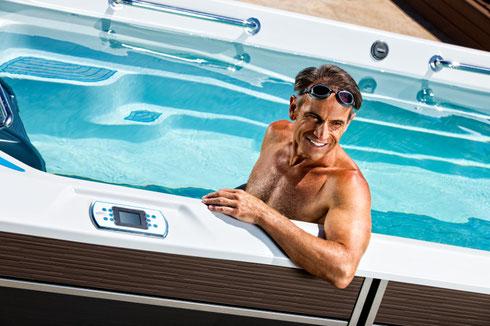 Wir erklären Ihnen gerne die zusätzlichen Kaufkriterien unserer SwimSpa Modelle