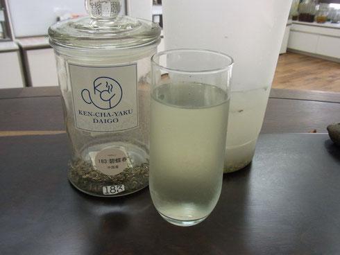 水出し緑茶(1時間後)