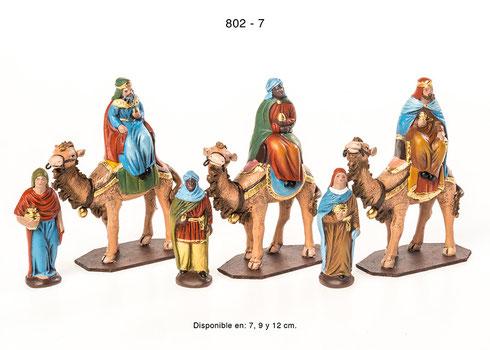 Reyes en camello-  para Portales de Belén
