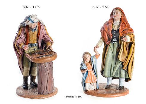 Figuras Navideñas-Herrero-Mujer con Niño