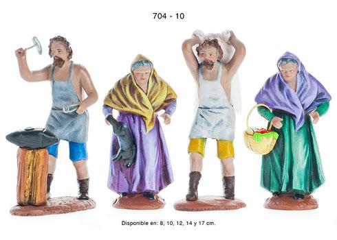 Figuras de Pesebres Navideños