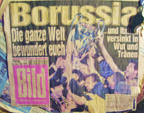 DORTMUND WINS champions league 97