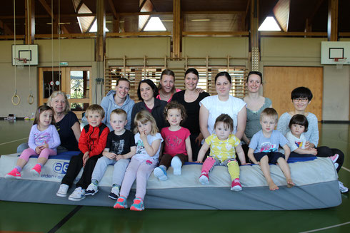 Gym parents-enfants mars 2017