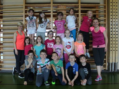 Gym kids mars 2017