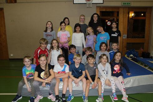 Gym kids janvier 2020