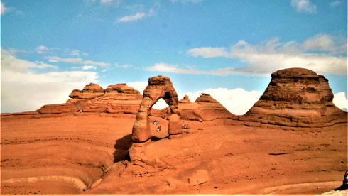 Arches National Park Tipps Anreise Lage Route