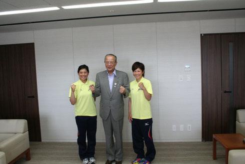 (右)永吉選手