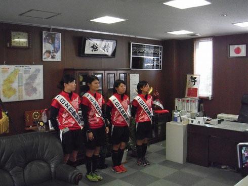 左から重藤選手・岡野選手・安藤選手・鬼澤選手