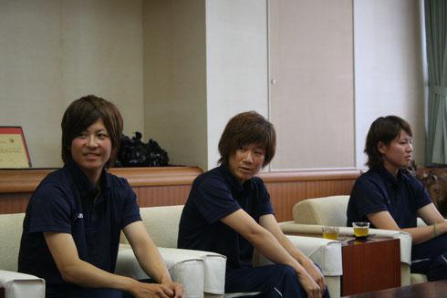 左から永吉選手、狩野選手、中岡選手