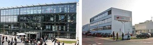 DHBW Mannheim, Campus Neuostheim (li), Eppelheim (re)