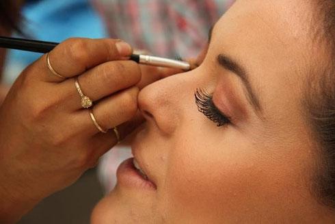 A continuación te mostraremos fotos para inspirarte en tu maquillaje de novia