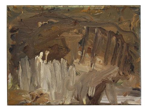 Spanische Landschaft, Öl/Lw, 30x40cm,2007