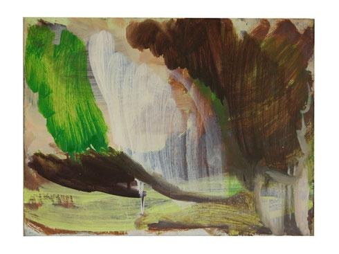 Ohne Titel, Öl- Lw, 30 x 40 cm, 2011