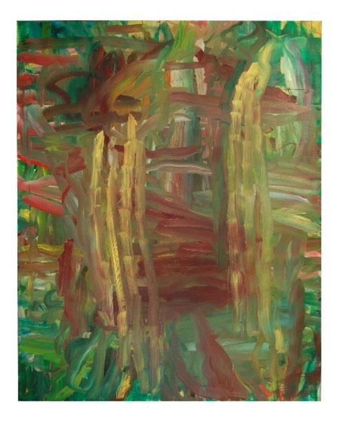 Bambus I, ÖL-Lw,190x170cm, 2010