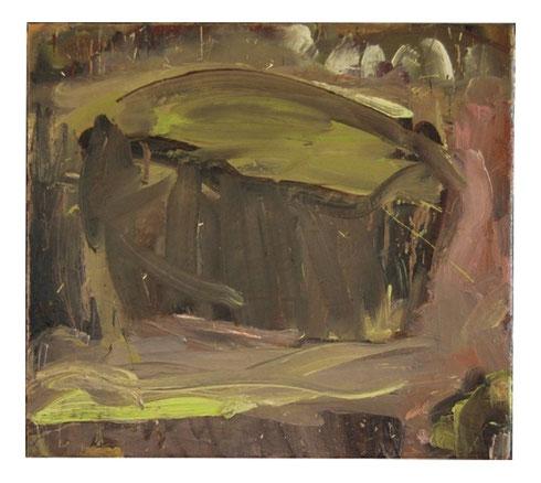 Fels, ÖL/Lw, 45x50cm, 2007
