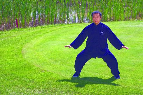 Danke meinem lieben Meister Jumin Chen