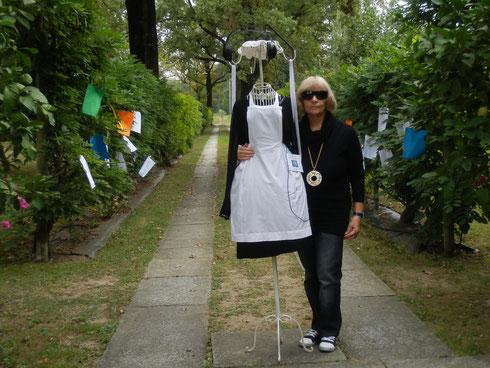 Lidia Chiarelli presenta la sua installazione in occasione delle celebrazioni del 28/09/2213