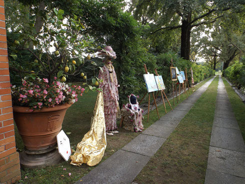 Viale dell'Arte al Meleto 20 settembre 2014 (foto Gianpiero Actis)