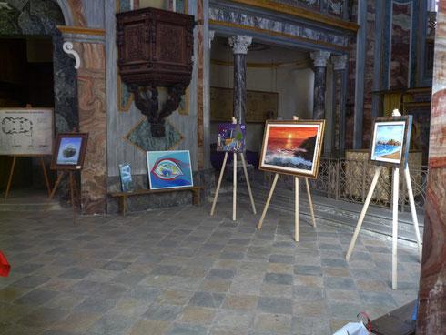 (Mostra nella Chiesa di Santa Marta, Agliè - 2013)